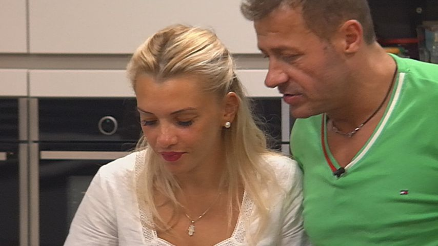 "Evelyn Burdecki und Willi Herren bei ""Promi Big Brother"""