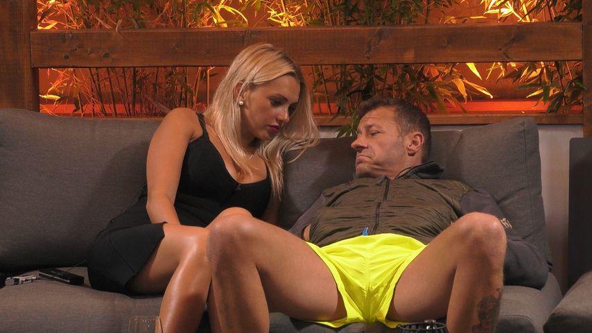 """Evelyn Burdecki und Willi Herren bei """"Promi Big Brother"""""""