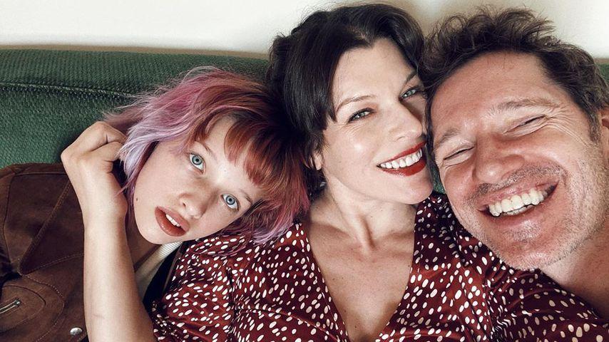 Ever Gabo Anderson, Milla Jovovich und Paul W. S. Anderson