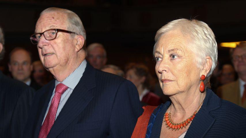 Ex-König Albert II. von Belgien und seine Frau Ex-Königin Paola