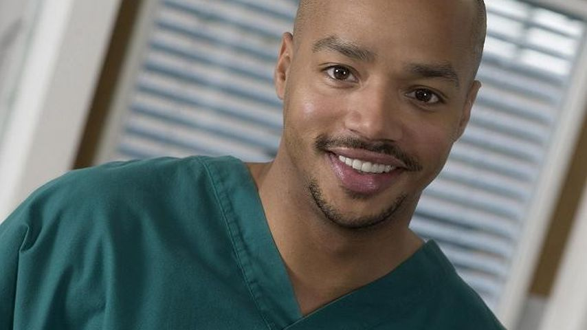 "Donald Faison in ""Scrubs"""
