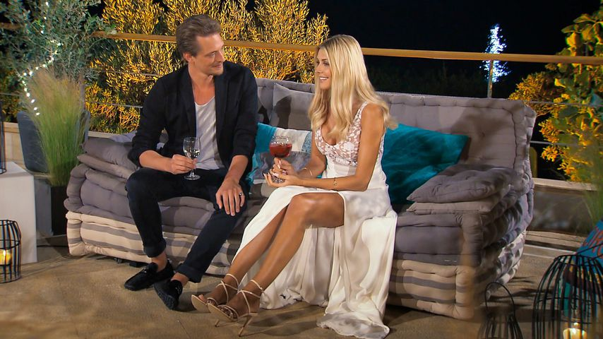 """Fabio Halbreiter und Gerda Lewis in der zweiten """"Die Bachelorette""""-Folge"""