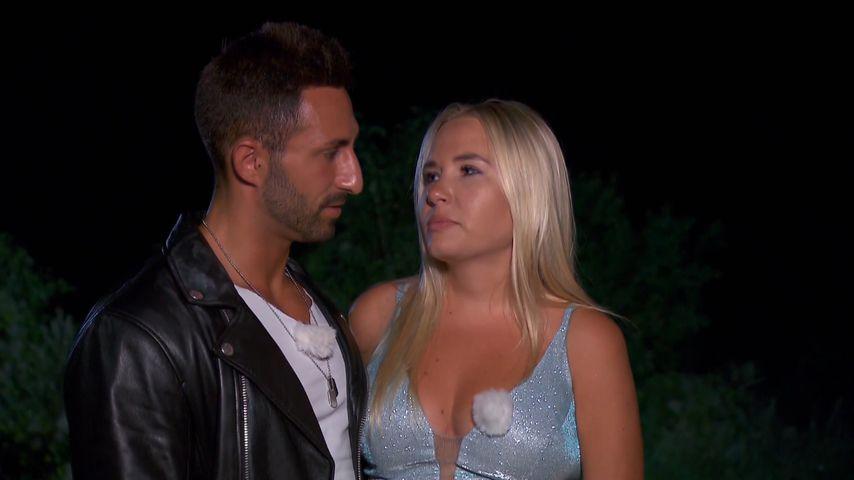 Fabio und Marlisa beim finalen Lagerfeuer