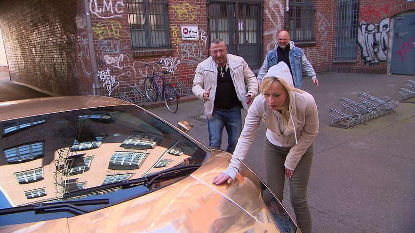 "Fabrizio, Joe und Peggy bei ""Berlin - Tag & Nacht"", Mai 2020"