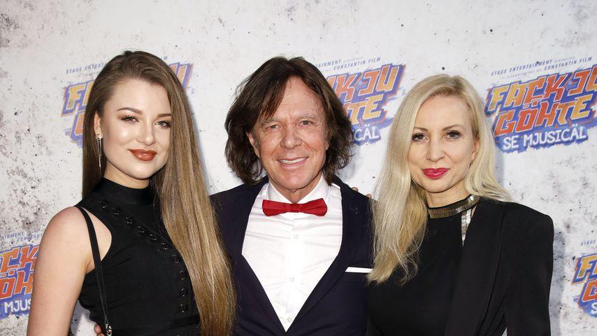 Jürgen Drews mit seiner Tochter Joelina un seiner Frau Ramona
