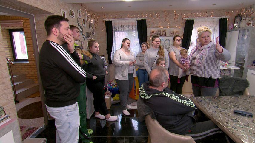 Familie Wollny um Oberhaupt Silvia Wollny