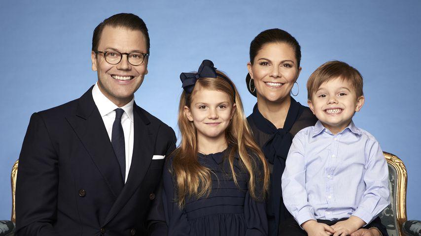 Familienbild der schwedischen Königsfamilie, Februar 2020