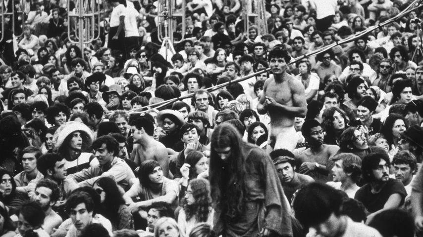 Fans beim Woodstock-Festival 1969