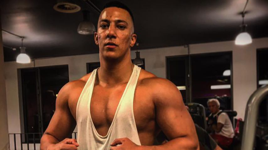Farid Bang im Fitnessstudio
