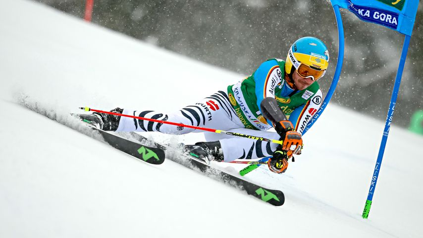Felix Neureuther beim Wolrdcup in Kranjska Gora 2016
