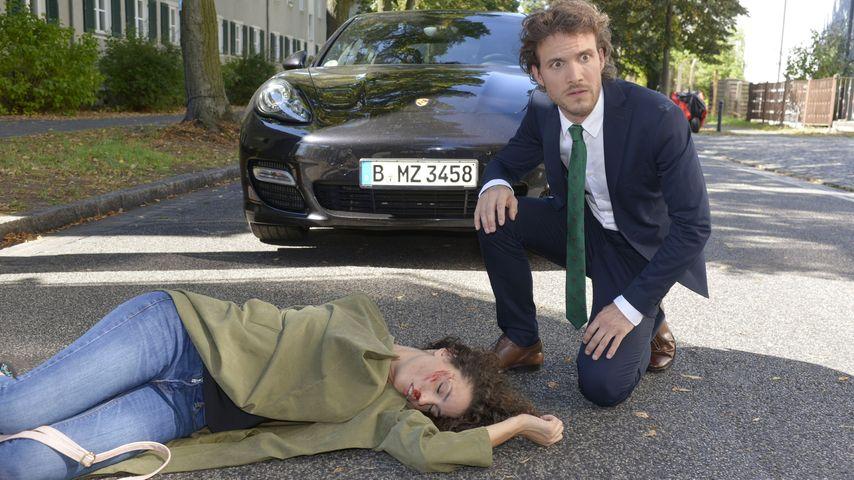Felix (Thaddäus Meilinger) und Ayla (Nadine Menz) bei GZSZ