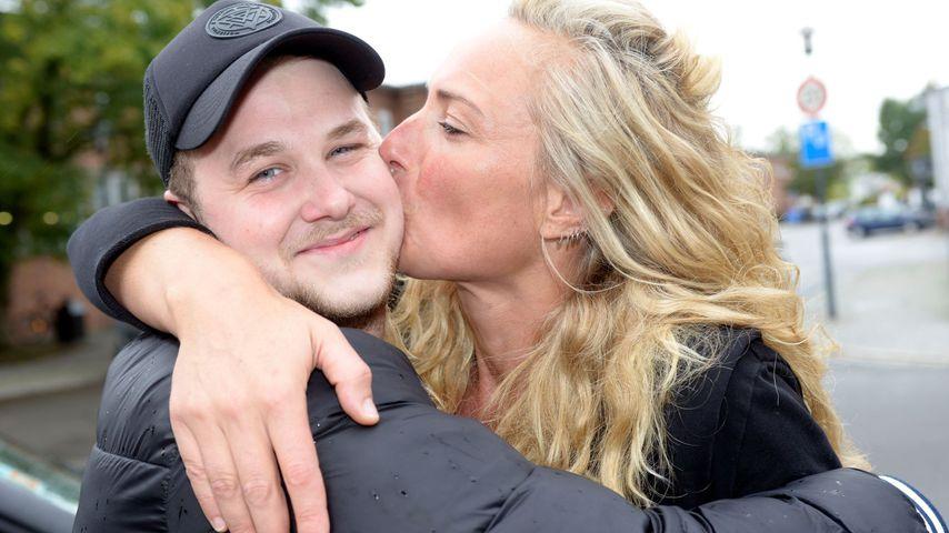 Felix van Deventer mit Serienmama Eva Mona Rodekirchen