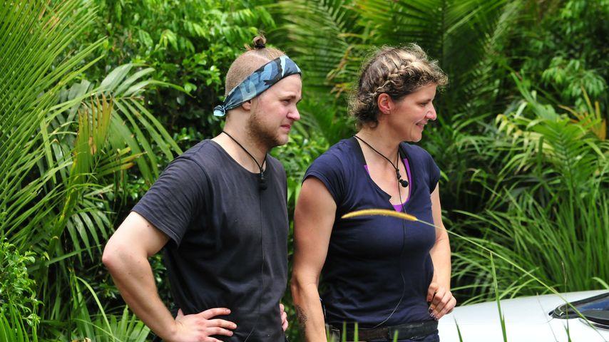 So schlagen sich Felix & Sandra in Dschungel-Horrorlimo!