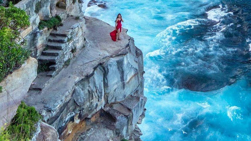 Felsvorsprung im australischen Diamond Bay