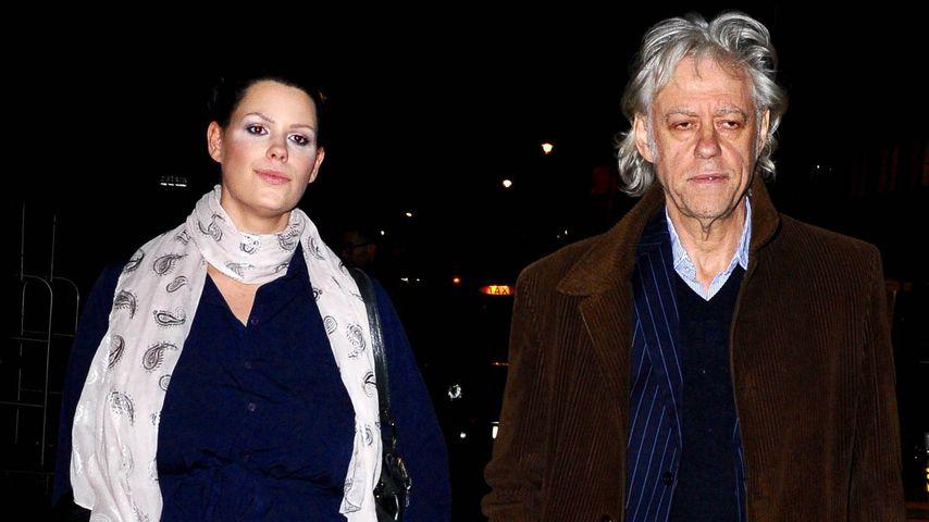 Fifi Trixibelle Geldof mit ihrem Vater Bob Geldof  2016 in London