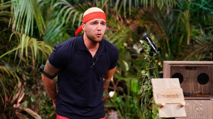 Filip Pavlovic in der Dschungelshow