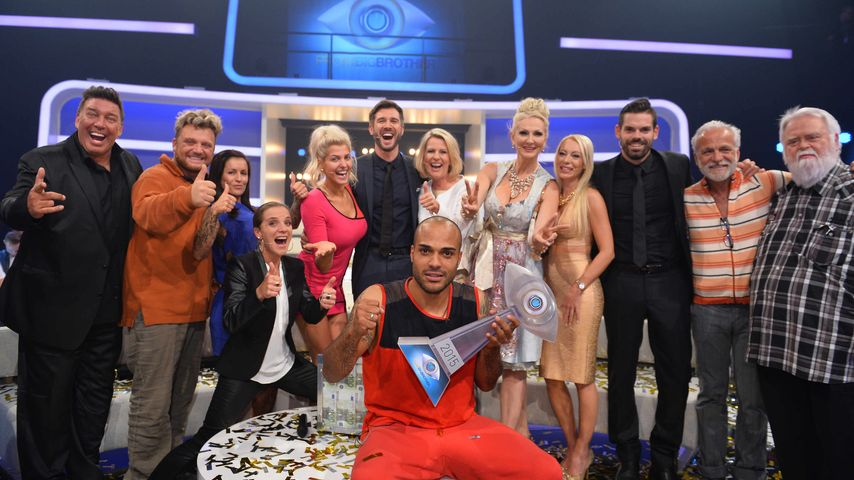 "Finalshow von ""Promi Big Brother"" 2015"