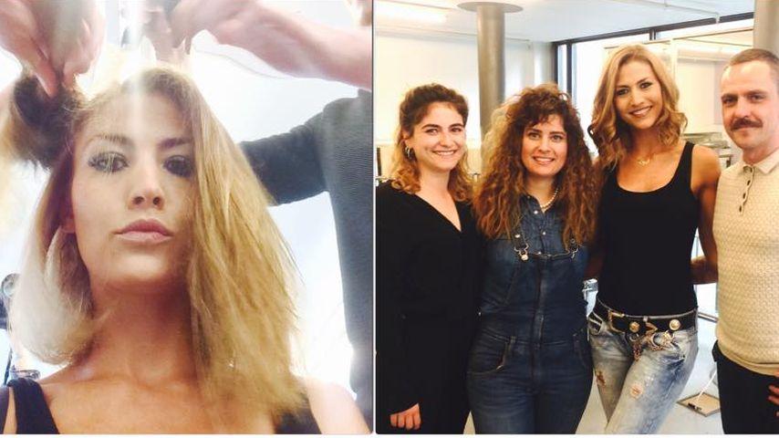 Haariges Geheimnis gelüftet: Fiona Erdmann ist jetzt blond