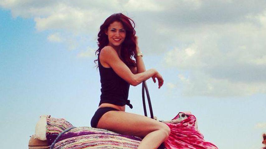 Kultur pur: So relaxt Fiona Erdmann im Urlaub
