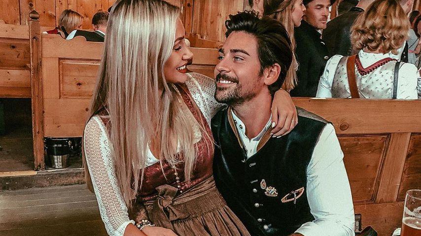 Seltenes Paar-Pic: Patrick Cuninka feiert Wiesn mit Freundin