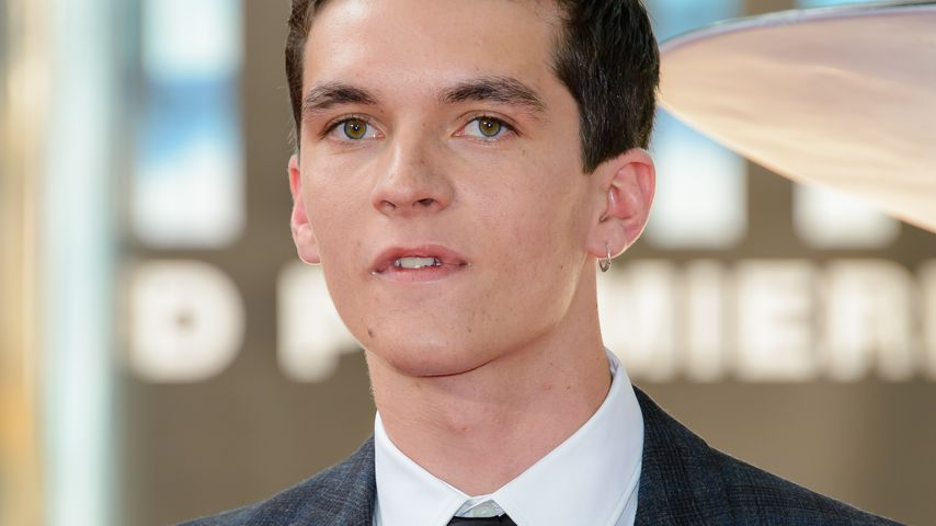 "Fionn Whitehead bei der ""Dunkirk""-Premiere in London"