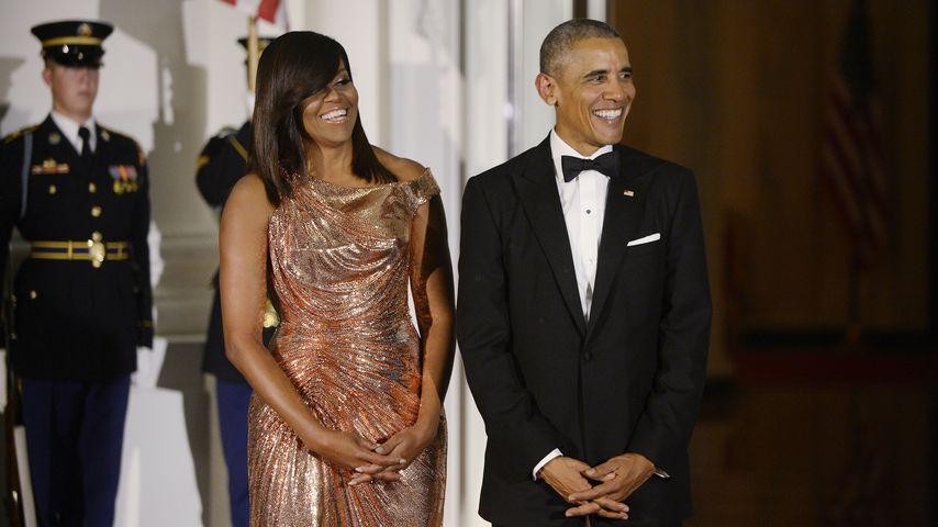 First Lady Michelle und Präsident Barack Obama