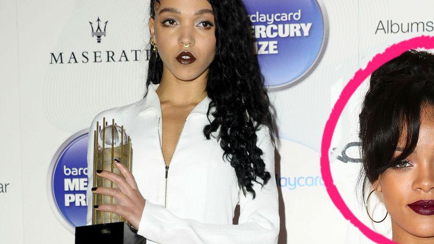Wegen Rob: FKA Twigs wirft Rihanna Todes-Blick zu