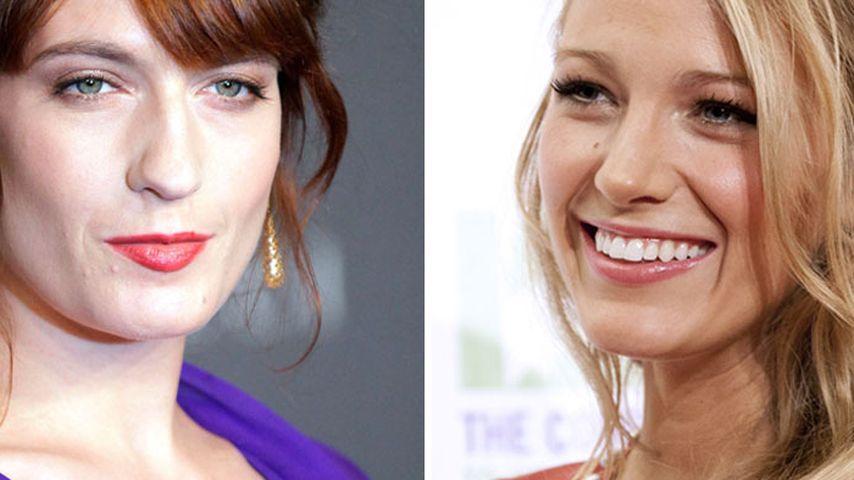 Stilvorbild: Blake Lively bewundert Florence Welch