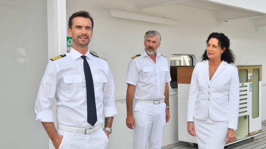 Florian Silbereisen mit seiner Traumschiff-Crew