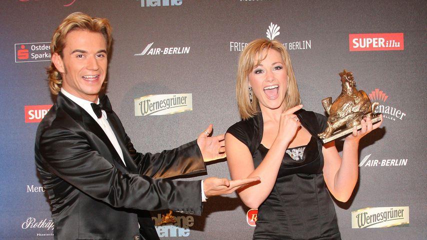 """Florian Silbereisen und Helene Fischer bei der """"Goldenen Henne 2009"""""""