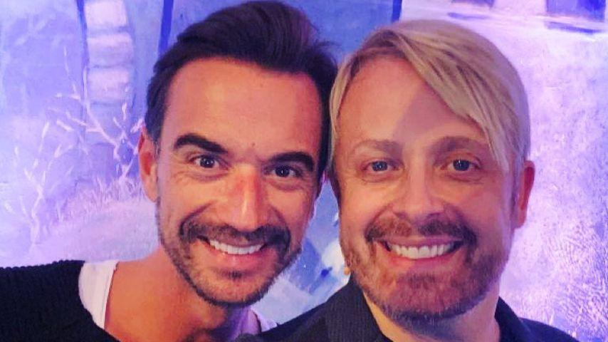 Florian Silbereisen und Ross Antony