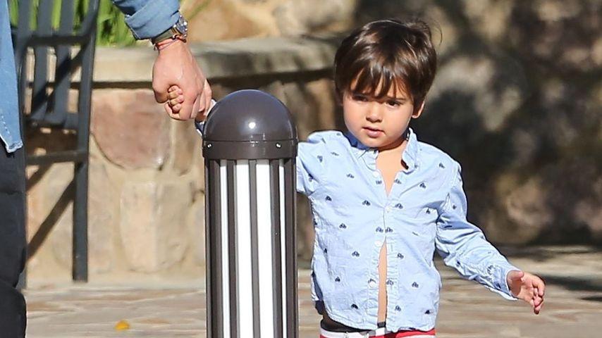 Orlando Bloom-Spross: Kleiner Flynn ganz groß!