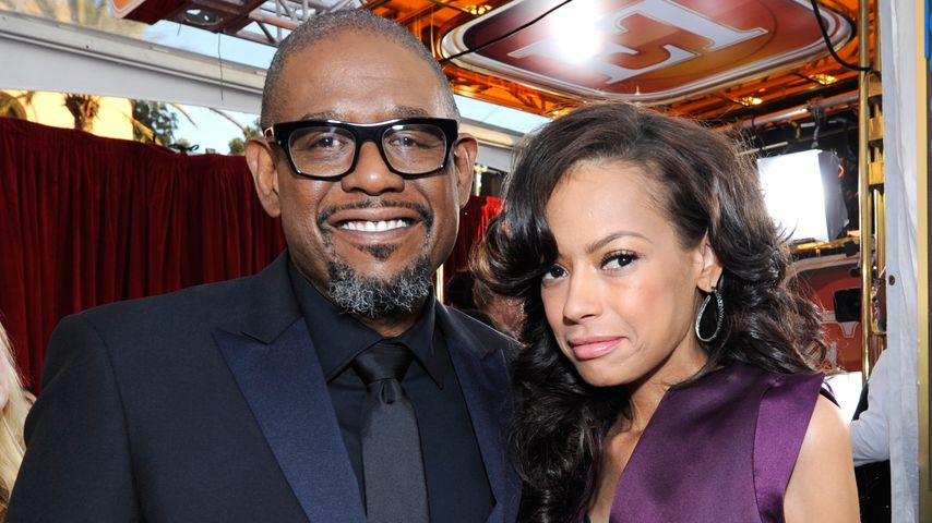 Forest Whitaker und Keisha Nash Whitaker in Los Angeles 2014
