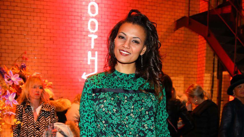 Francisca Urio bei der Berliner Fashion Show im Januar 2019