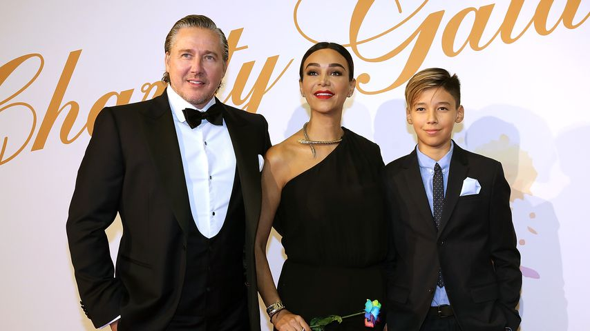 Franjo und Verona Pooth mit ihrem Sohn Diego