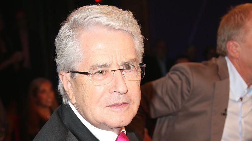 Großer Schock: Moderator Frank Elstner leidet an Parkinson