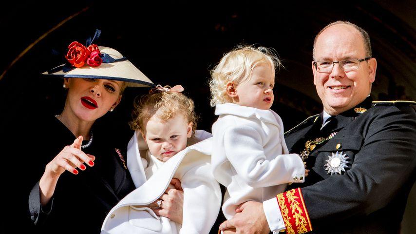 Fürstin Charlène: Ihre Zwillinge bringen sie an ihre Grenzen