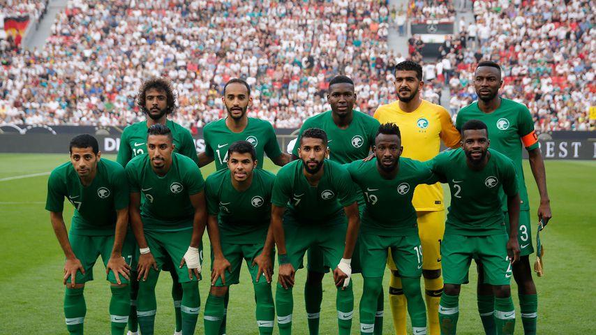 Schock für Saudi-Arabiens WM-Team: Ihr Flugzeug fing Feuer!