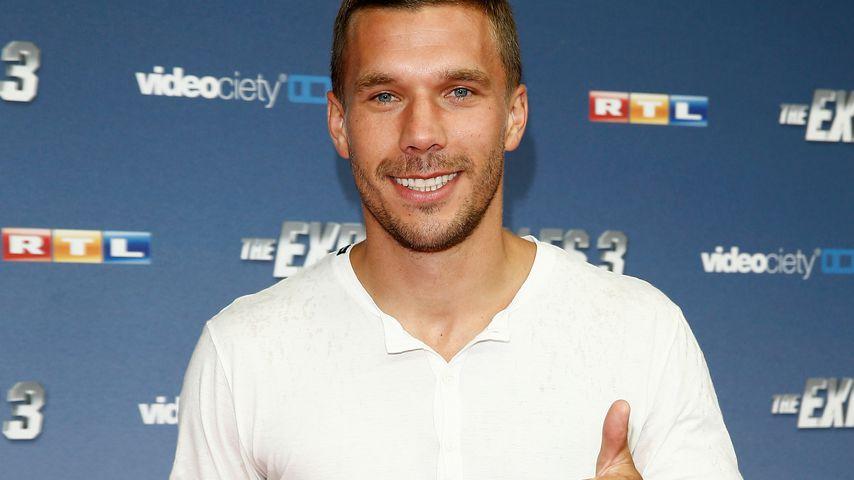 "Lukas Podolski bei der ""The Expandables 3""-Premiere in Köln 2014"
