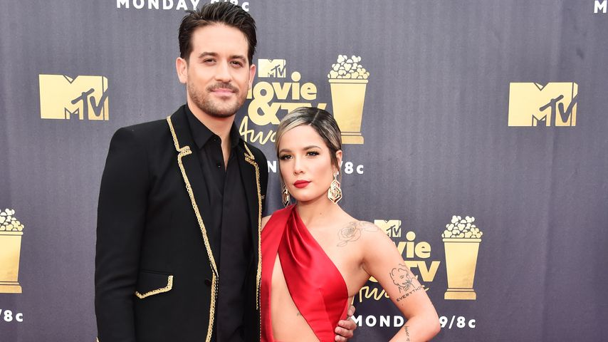 G-Eazy und Halsey bei den MTV Movie And TV Awards 2018