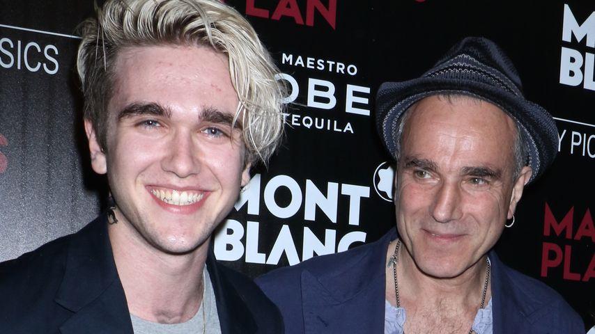 Gabriel-Kane Day-Lewis mit seinem Vater Daniel Day-Lewis