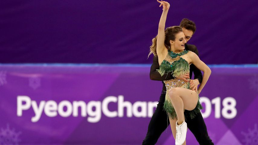 Gabriella Papadakis und Guillaume Cizeron bei den Olympischen Winterspielen 2018