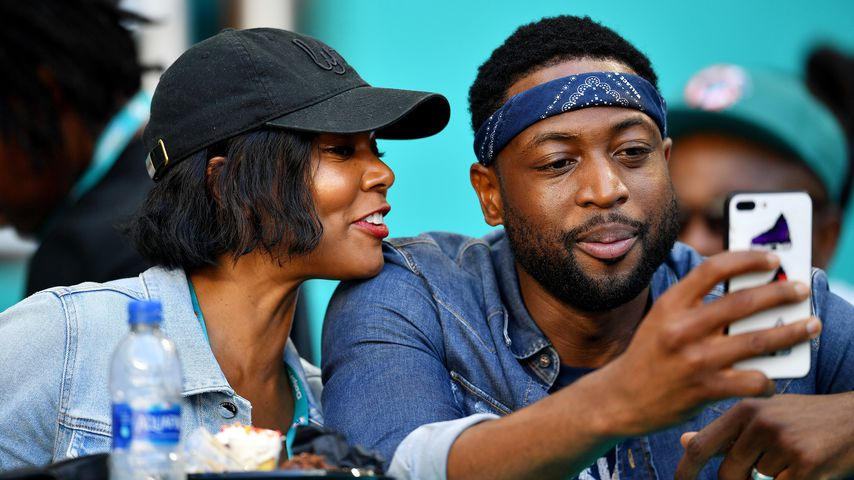 Gabrielle Union und Dwyane Wade in Miami