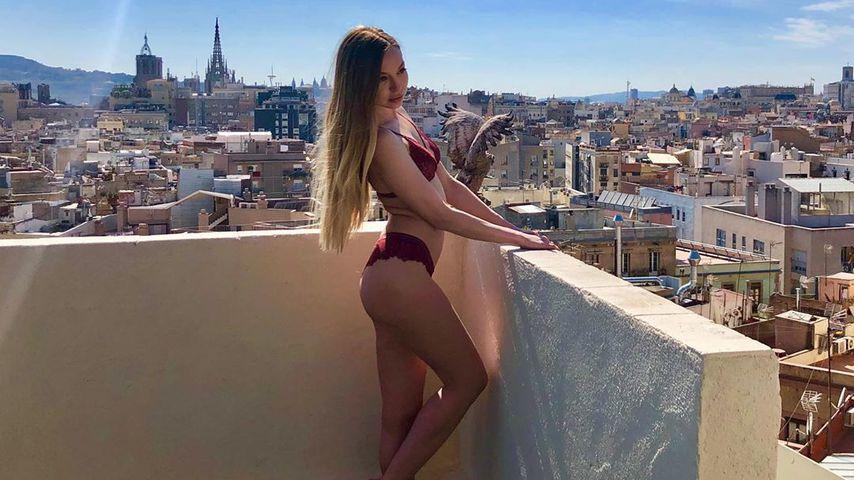 Galina Fedorowa in Barcelona im Juni 2019