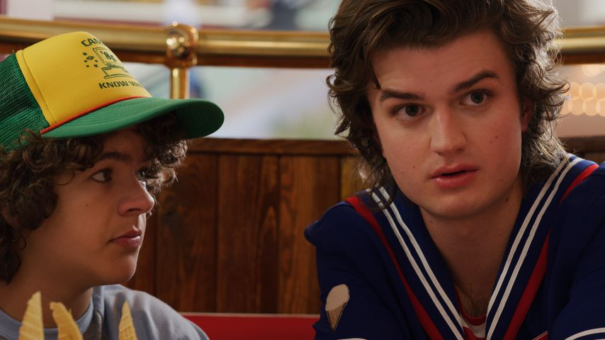 """Gaten Matarazzo und Joe Keery in """"Stranger Things"""""""