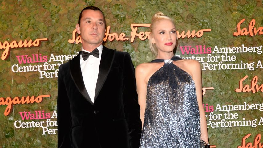 Kugelrund! Gwen Stefani zeigt ihren Baby-Bauch