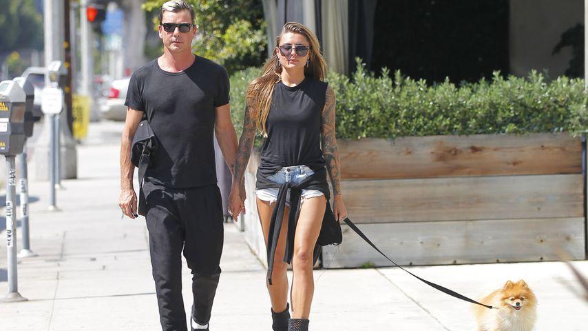 Gavin Rossdale und Sophia Thomalla in Los Angeles