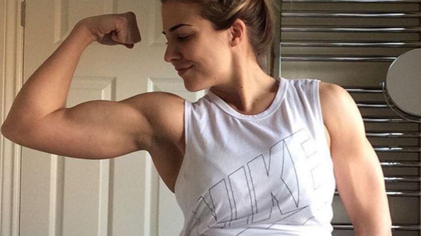 Zu muskulös? Ronaldo-Ex Gemma Atkinson wehrt sich!
