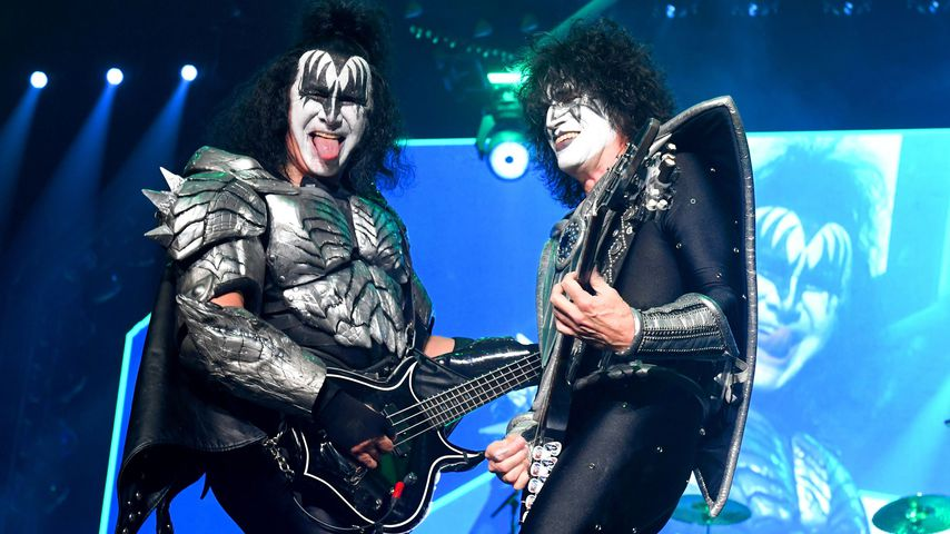 Gene Simmons und Tommy Thayer von Kiss
