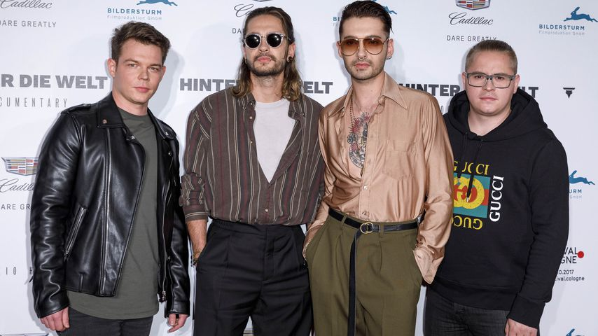 Georg Listing, Bill Kaulitz, Tom Kaulitz, Gustav Schäfer 2017